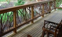 Idea for Deck Railing | Wood Railing Blog