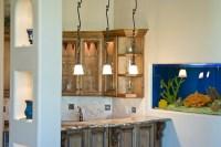Pendant Light Fixtures Over a Wet Bar | Woodridge Custom ...