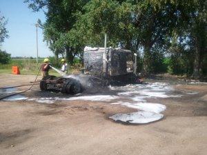 Truck Fire 2012