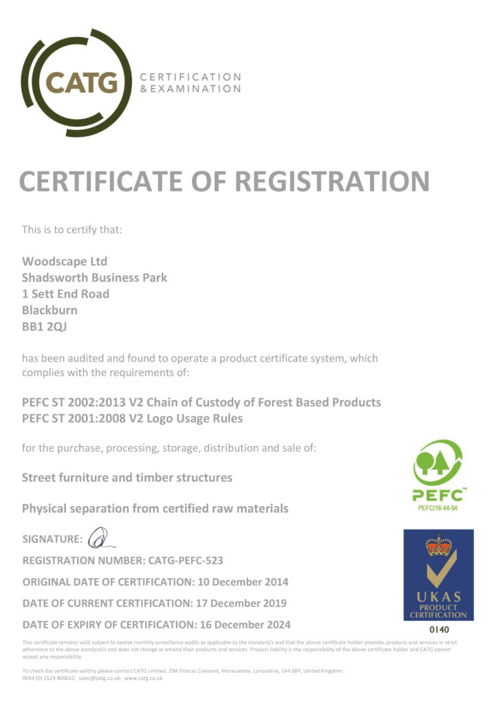 With more than 500 million acres of. Pefc Certified Woodscape Street Furniture