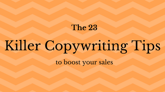 23 astonishing tips to write copy that sells