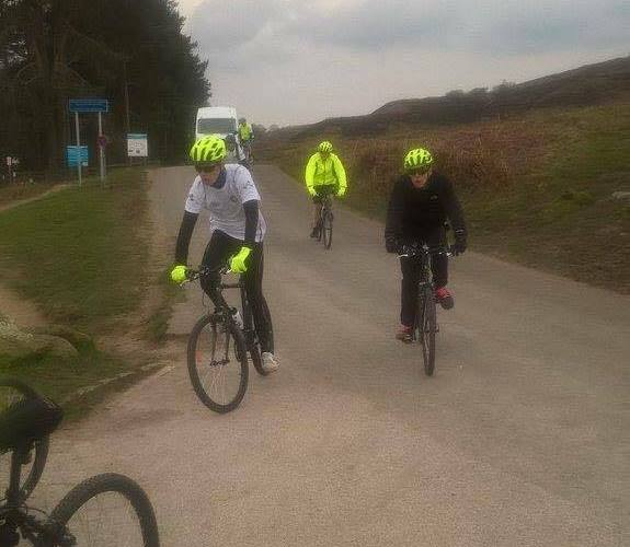 Sam cycles 130 miles for charity!