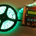 RGB LED Strip Alarm Clock