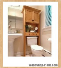 Woodwork Bathroom Wall Cabinets Plans PDF Plans