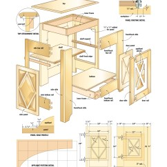 Kitchen Cabinet Plans Themed Bridal Shower Free Woodworking Cabinets Quick