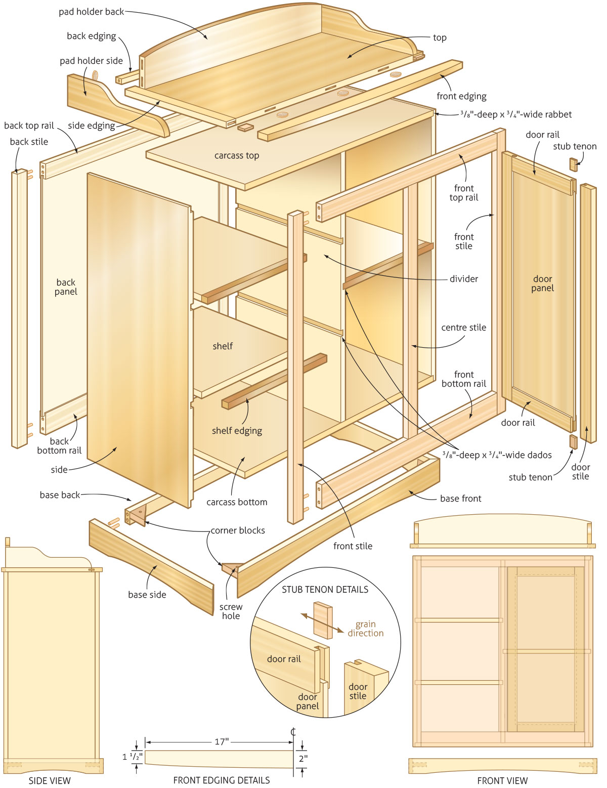 How To Build Baby Changing Table Dresser Plans Plans