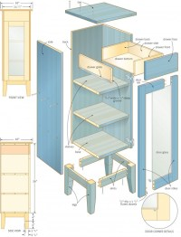 Woodwork Bathroom Cabinet Woodworking Plans PDF Plans