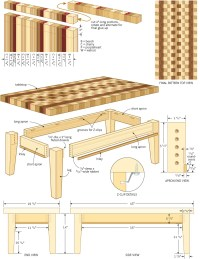 coffee table woodworking plans - WoodShop Plans