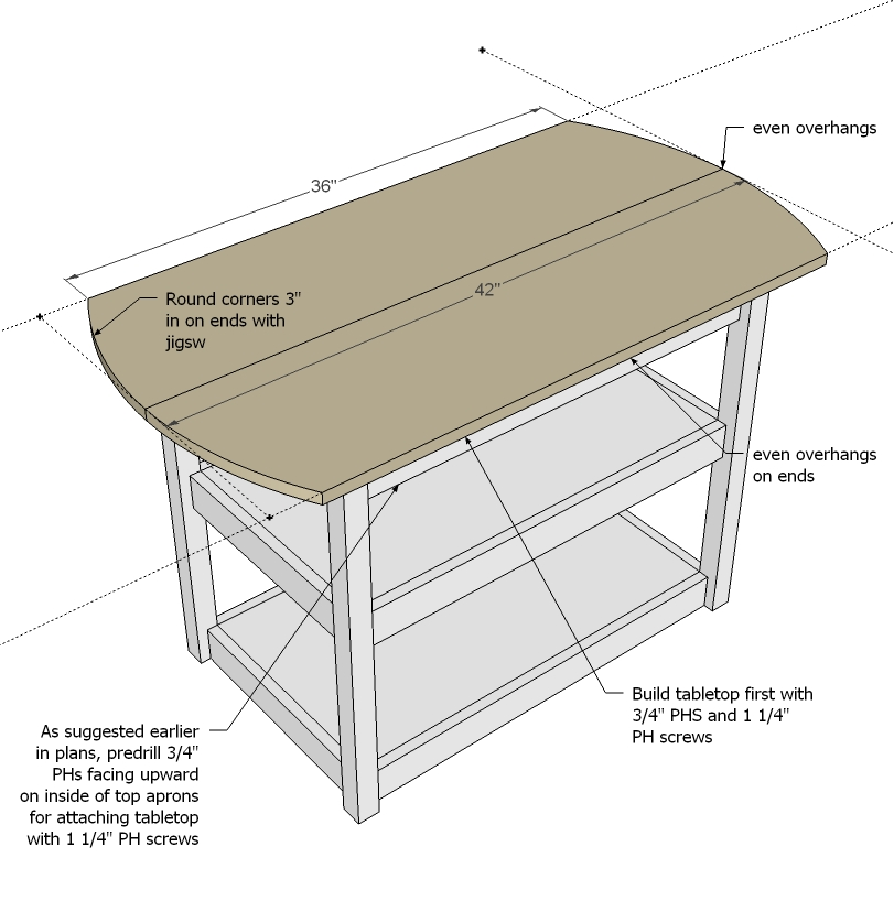 drop leaf storage table woodworking plans
