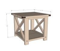 free end table plans | Quick Woodworking Projects