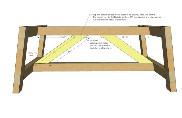 Truss Coffee Table Plans