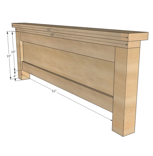 storage bed woodworking plans step 10