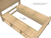 Woodwork Woodworking Plans For Beds With Storage PDF Plans