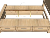Woodworking Bed Plans With Storage PDF Woodworking