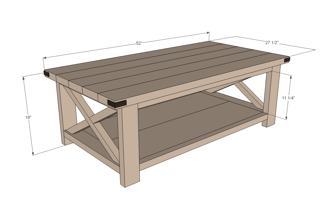 Build DIY Coffee Table Plans Metric PDF Plans Wooden Build