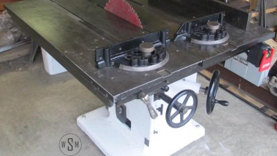 Tannewitz Table Saw Restoration