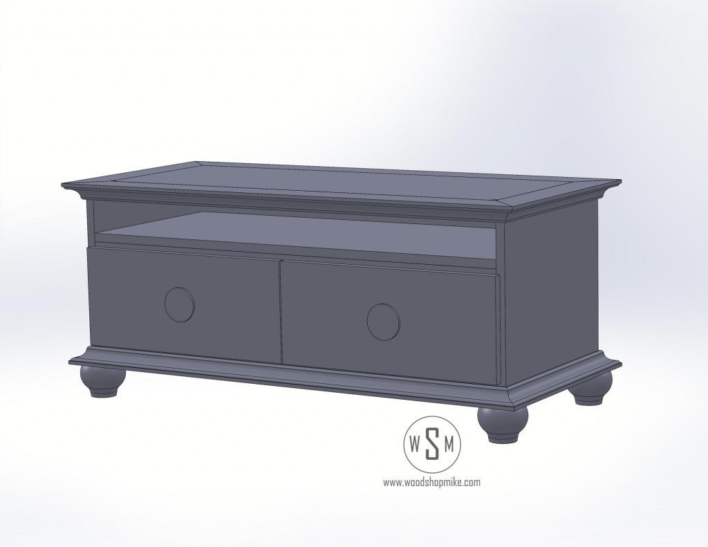 TV STAND RENDERING