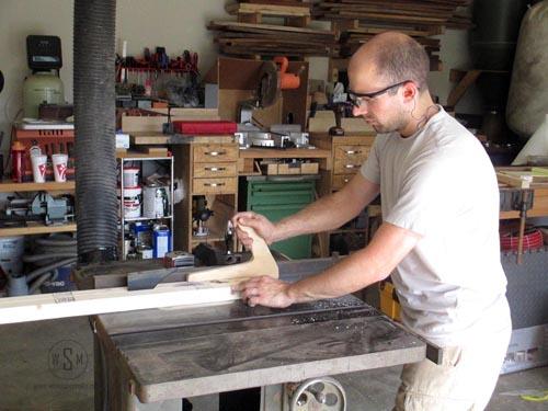 cutting 2x4s on Walker Turner 1180b table saw