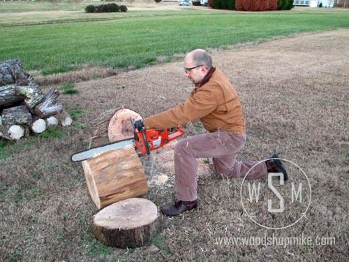 Cross Cutting Log