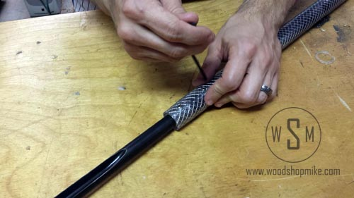 Fitting Gouge Into Handle