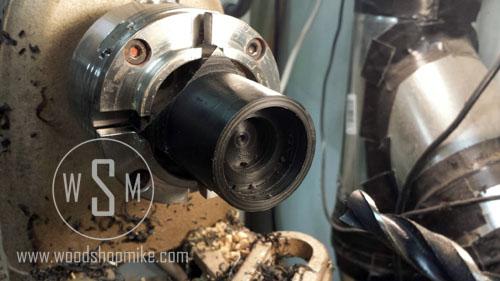 Vacuum Adapter, Ball Bearing Recess