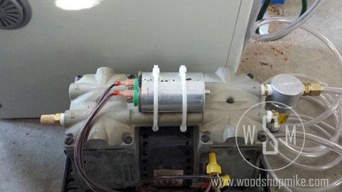 Vacuum Adapter, Zip Tie Capacitor