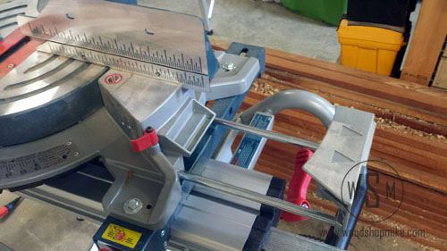 BOSCH Glide Saw, Table Extended