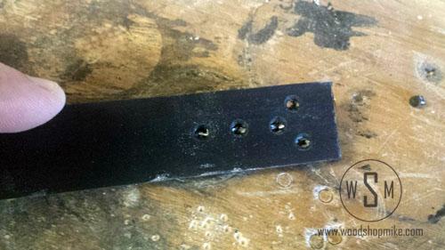 Punch Holes, Stitching a Flat Belt