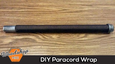 550 Paracord Handle Wrap Tutorial