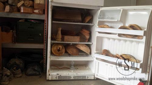 Shelves Installed, DIY Kiln