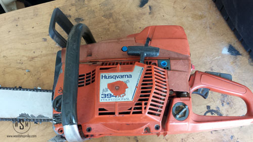 Husqvarna 394 XP, Ready For Surgery