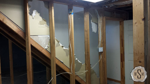 demoing-drywall-our-fix-it-up-house-removing stairs