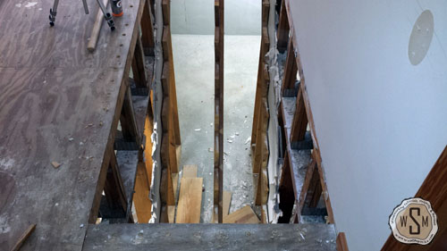 risers-and-treads-all-gone-our-fix-it-up-house-removing stairs