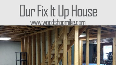 Removing Stairs, Our Fix It Up House