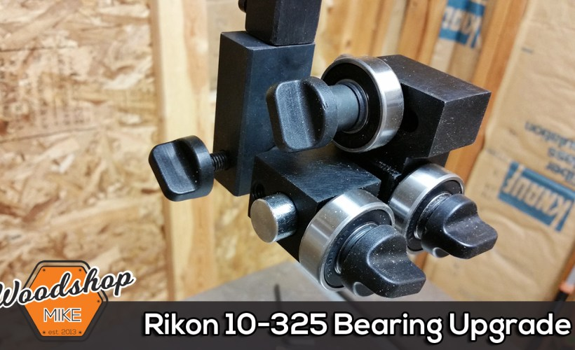 Splash Image Rikon 10-325 Bearing Upgrade