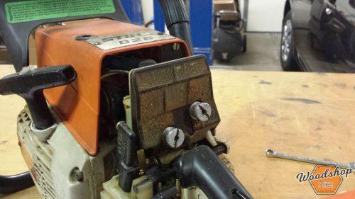 Dirty Air Filter-carburetor rebuild