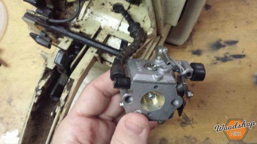 Carburetor Rebuild, A Dying Chainsaw's Last Words - Woodshop