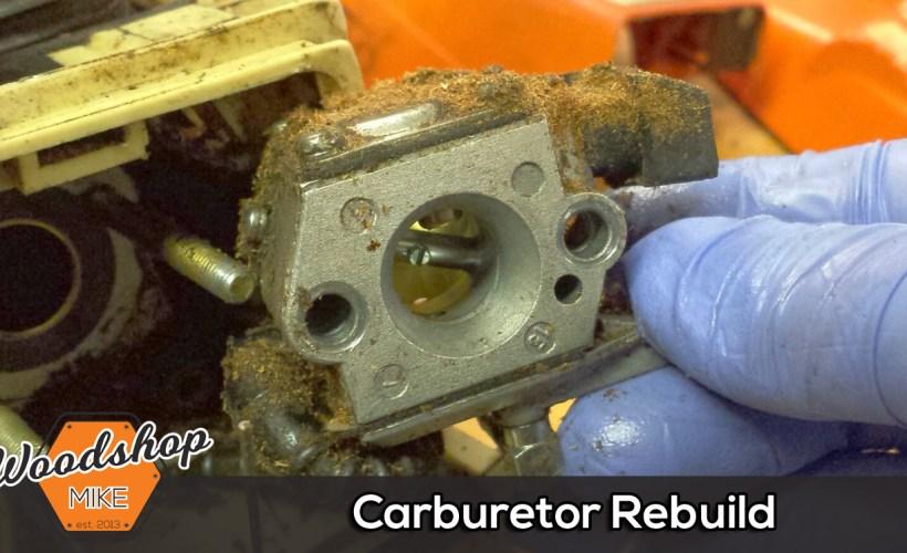 Splash Image-carburetor rebuild