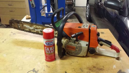 Carburetor Rebuild, A Dying Chainsaw's Last Words - Woodshop Mike
