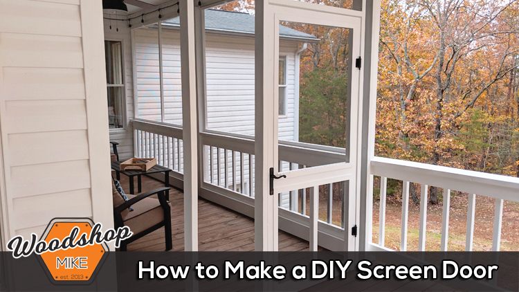 How to Make a DIY Screen Door-Featured Image