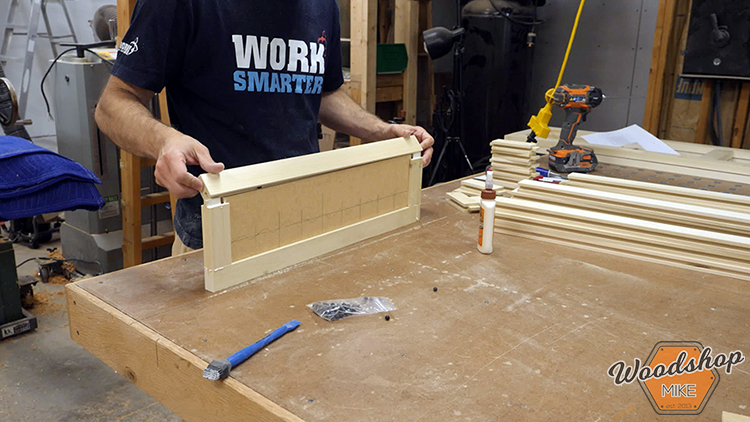 Five Piece Panel Assembly DIY Farmhouse Platform Bed