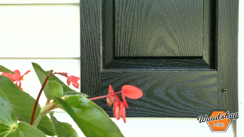 Freshly Painted Shutters, Front Porch Renovation
