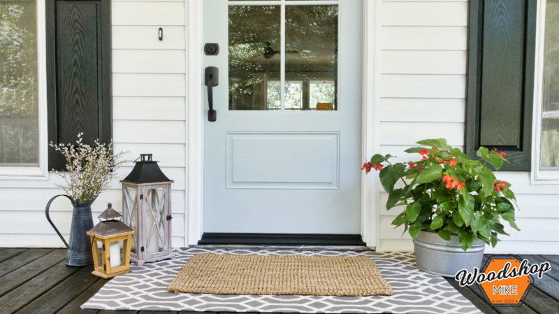 Front Door, Front Porch Renovation