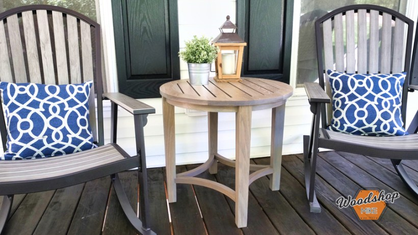 How to make an outdoor side table Cover Photo