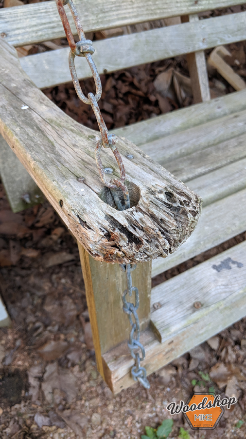 rotted wood furniture, how to restore outdoor furniture