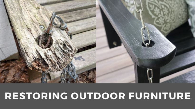 how to restore outdoor furniture
