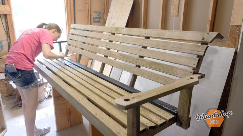 how to repair outdoor furniture, general finishes milk paint