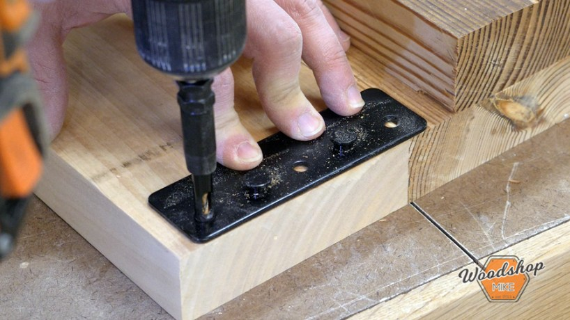 rockler center drill, make this easy to build rustic bed