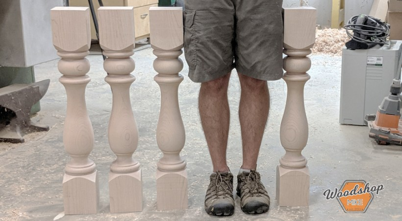 How to Turn Identical Table Legs, how to make table legs