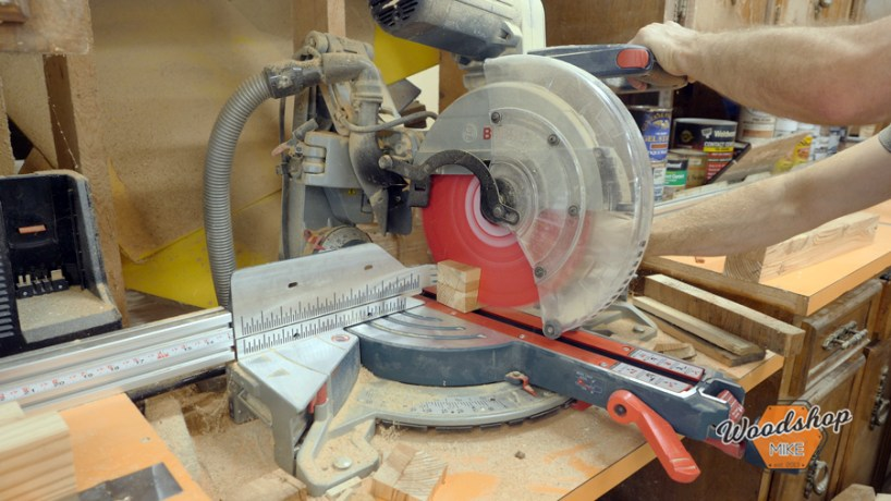 cutting compound angles on miter saw